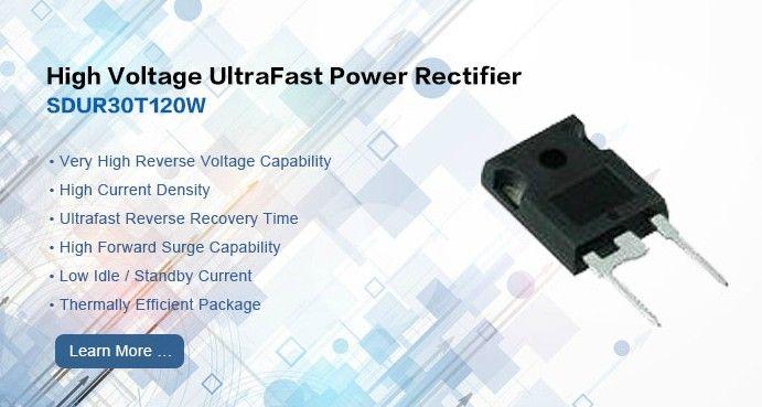 High Voltage Ultrafast Power Rectifier Sdur30t120w High Voltage