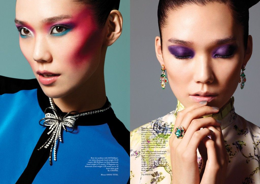 Tao Okamoto by Chris Craymer for Glass Magazine Summer 2013