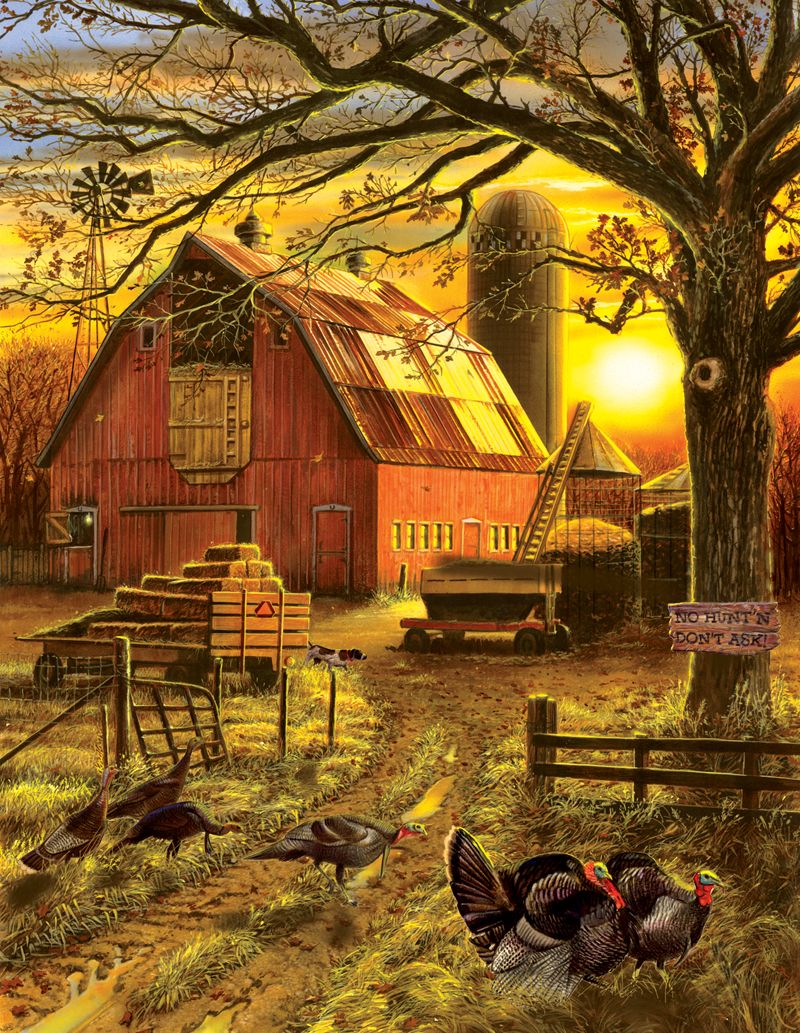Sunset Barn Barn art, Country scenes, Country barns