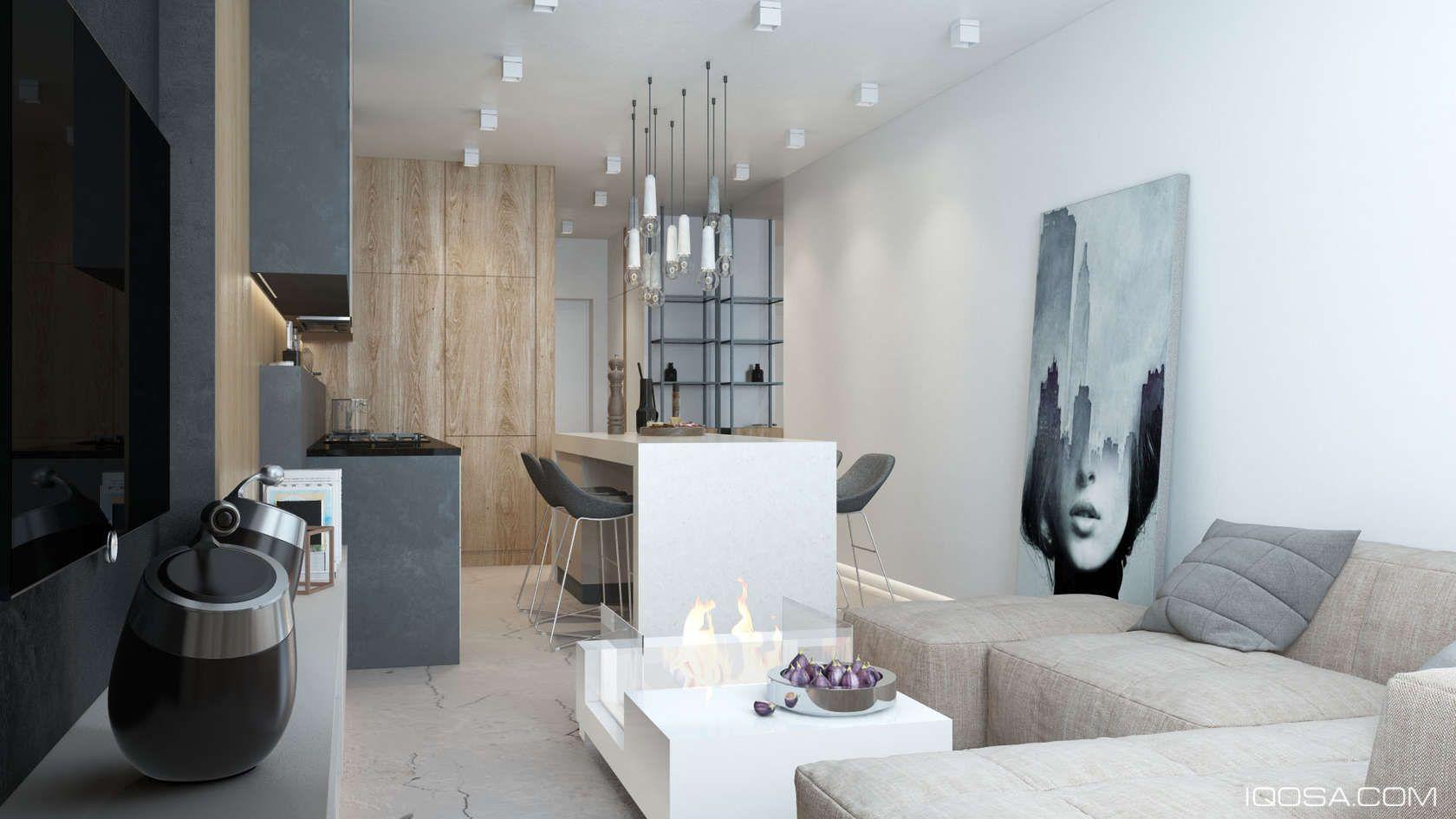 luxury small apartments design