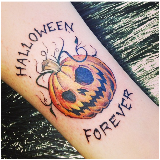 30 Awesome and Creepy Halloween Tattoos Spooky tattoos