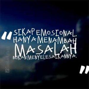 Kata Kata Bijak Emosi
