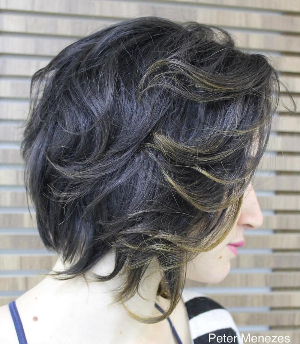 70 Best Variations of a Medium Shag Haircut for Your Distinctive Style | Bob haircut for fine ...