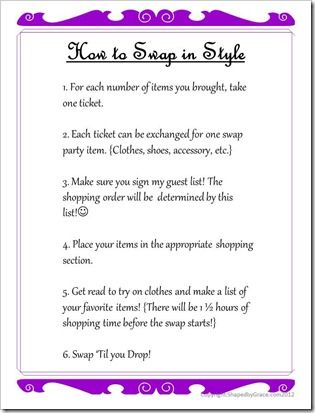 How to host a clothing Swap Party! | WHY DIDN