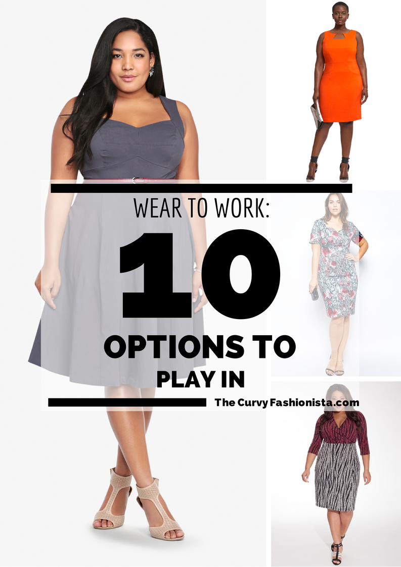 10 Plus Size Wear to Work Options To Play In (The Curvy ...