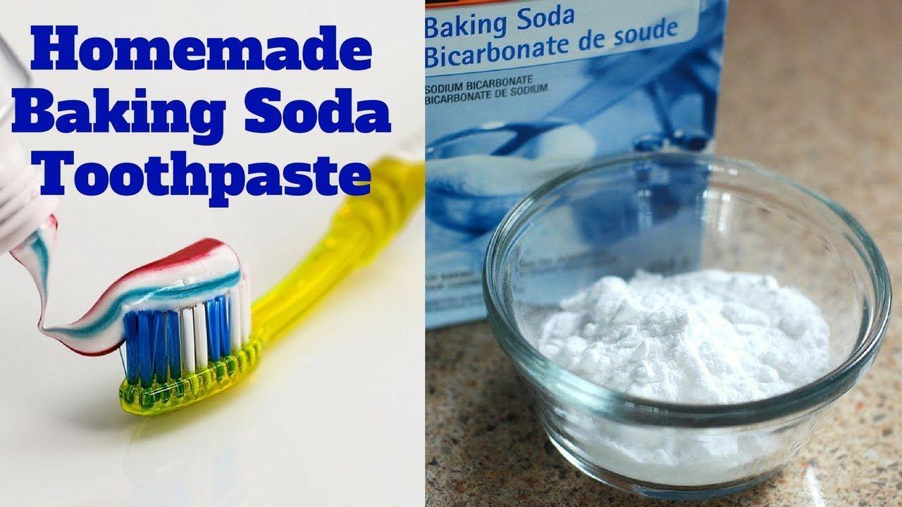 Homemade baking soda toothpaste baking soda toothpaste