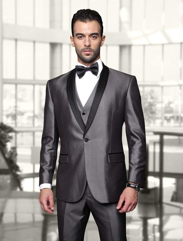 New Arrivals Two Buttons Royal Blue Groom Tuxedos Peak Lapel ...