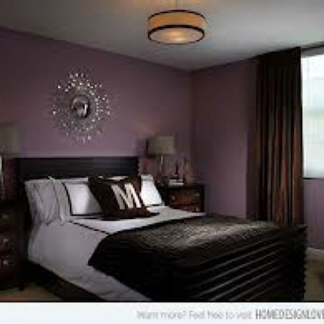 Purple Chocolate Brown Decor