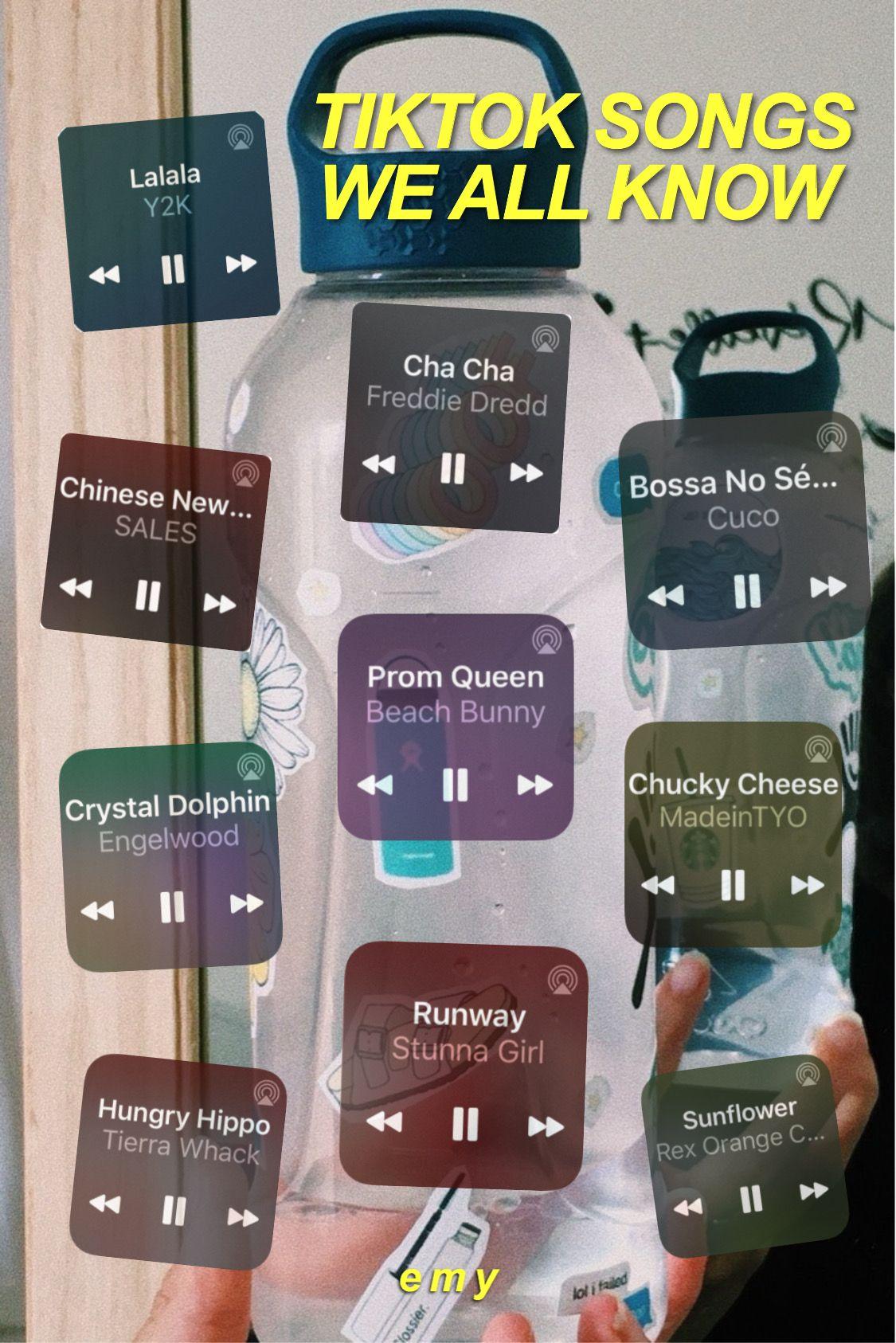 Tiktok Songs We All Know Songs Throwback Songs Mood Songs
