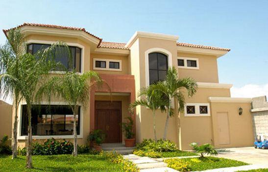 Carta de colores para fachadas de casas | Planos de casas modernas ...