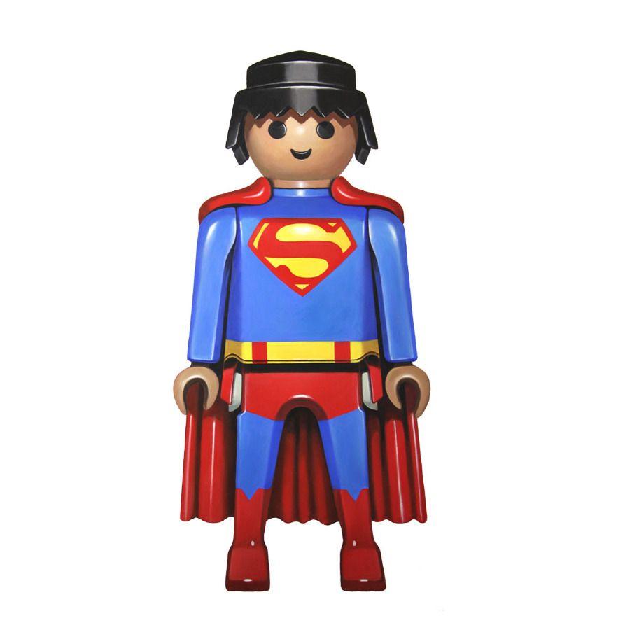 Superman by pierre adrien sollier playmovil - Batman playmobil ...