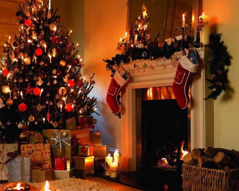 Christmas Fireplace Socks Wall Photo Background Studio Photography Backdrop Props Christmas Tree And Fireplace Christmas Fireplace Christmas Lights