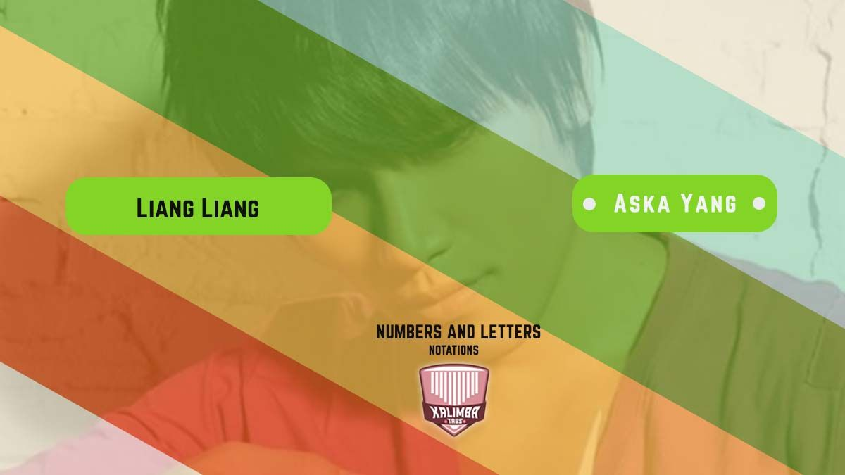Liang Liang Ost Eternal Love Kalimba Tabs Numbers And Letters Notation Notations Letters Piano Tutorials