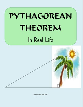 Pythagorean Theorem In Real Life Common Core 8 G With Images
