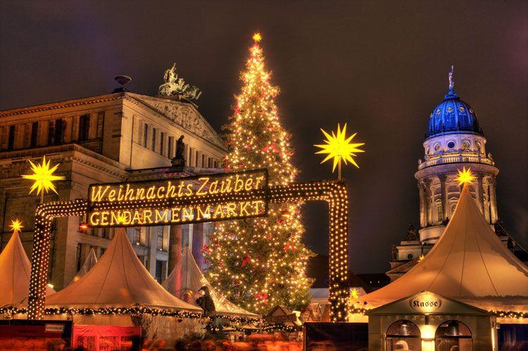 Mercadillo Navideño de Berlín.