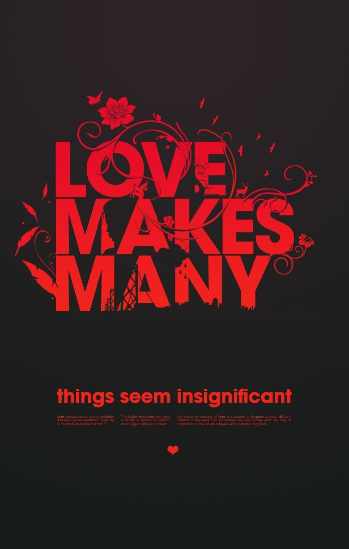 Beautiful Typography Posters For Your Inspiration