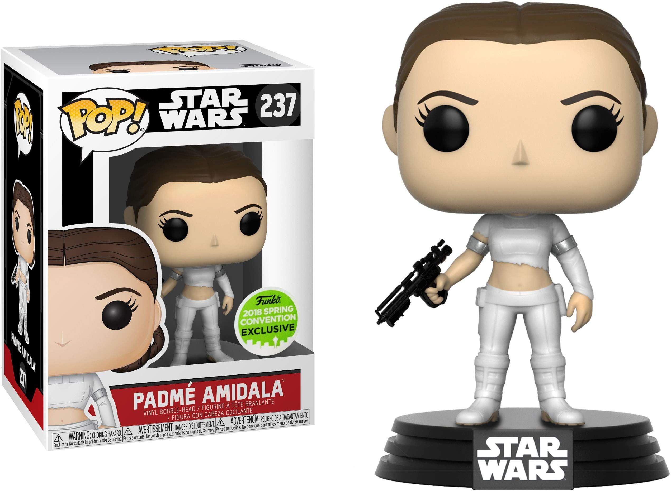 Funko Padme Amidala 2018 Spring Con Exclusive Pop X Star Wars Vinyl Figure 1 Official Star Wars Trading Funko Pop Star Wars Star Wars Padme Vinyl Figures