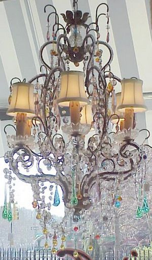 1930s french chandelier charming chandeliers sensational 1930s french chandelier mozeypictures Gallery