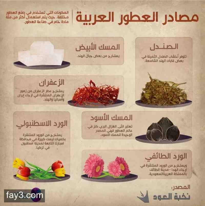 مصادر العطور العربية إنفوجرافيك Learning Arabic Beautiful Birthday Cakes Learn Arabic Language