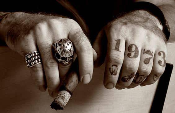 f8f007da6 Finger Tattoos for Men | fuckn' finger shot | Finger tattoos, Hand ...