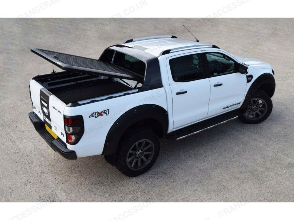 Ford Ranger Wildtrak Double Cab Pro Top Lift Up Alu Cover In