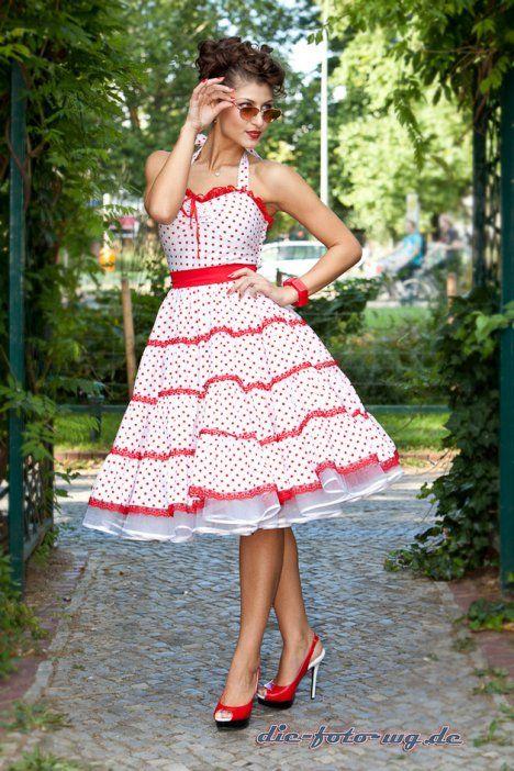 Charlott Atelier Berliner Label Fur Petticoatkleider Mode Kleider Und Kleider 50er