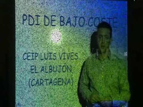 PIZARRA DIGITAL (PDI) MANDO WII- COLEGIO LUIS VIVES (EL ALBUJÓN- CARTAGENA) - YouTube