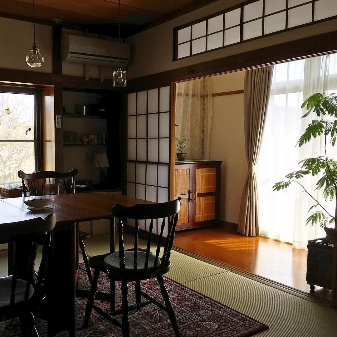 縁側 縁側 縁側のある家 和室 中古住宅 昭和の家 築37年 ボロ屋