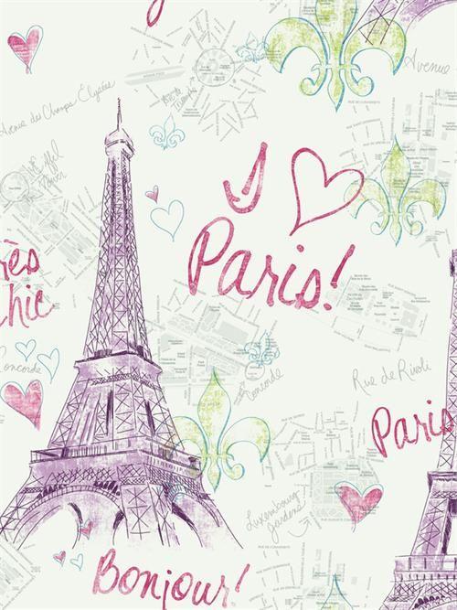 paris themed wallpaper tween wallpaper pw3911 page 19