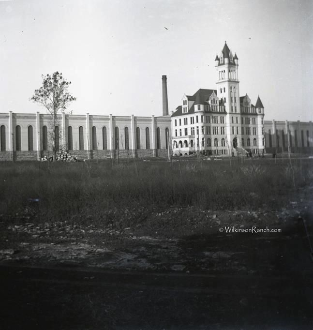 The Old Tennessee State Prison In Late 1800s Right After It Opened Nashville Tenn
