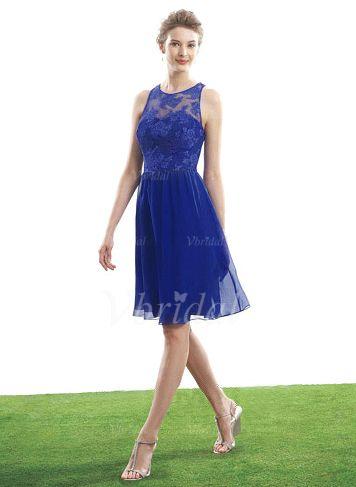 bridesmaid dresses  12636  aline/princess scoop neck kneelength chi…  brautjungfern