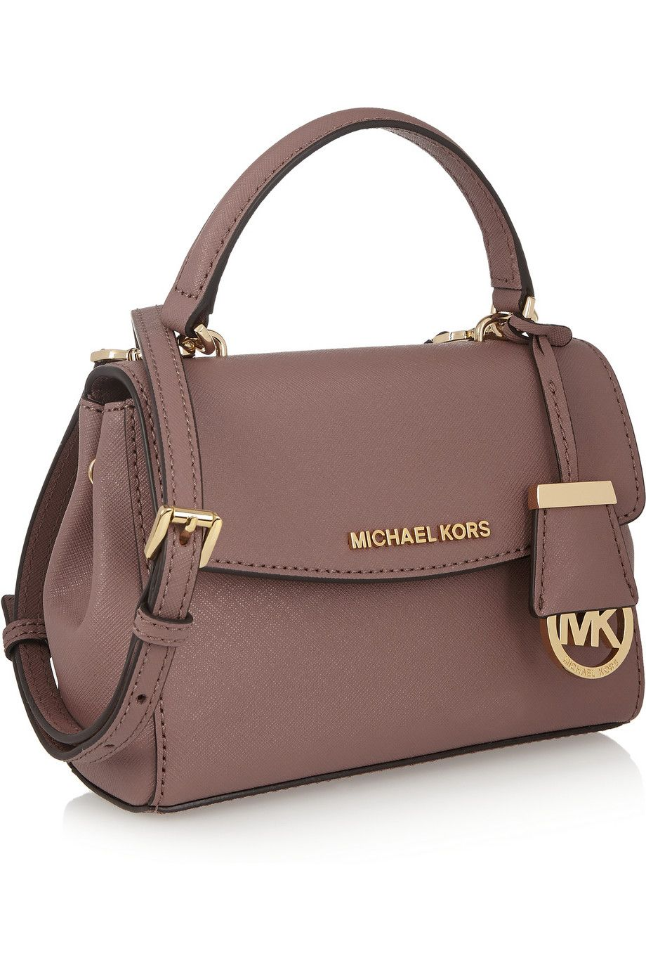 Ava Mini Textured Leather Shoulder Bag