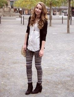 Patterned leggings for teens | Fashion World | Colors, Prints ...