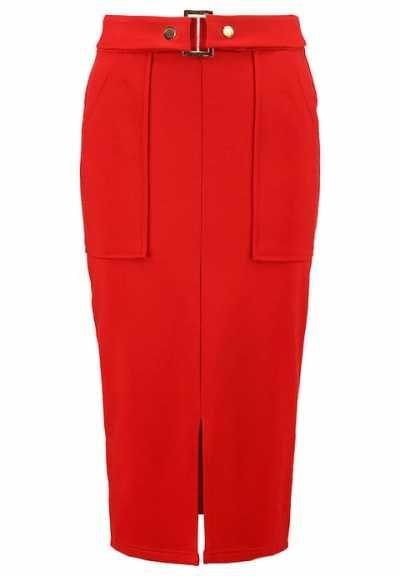 Dorothy Perkins Falda De Tubo Red vestidos y faldas Tubo red Perkins falda Dorothy Noe.Moda