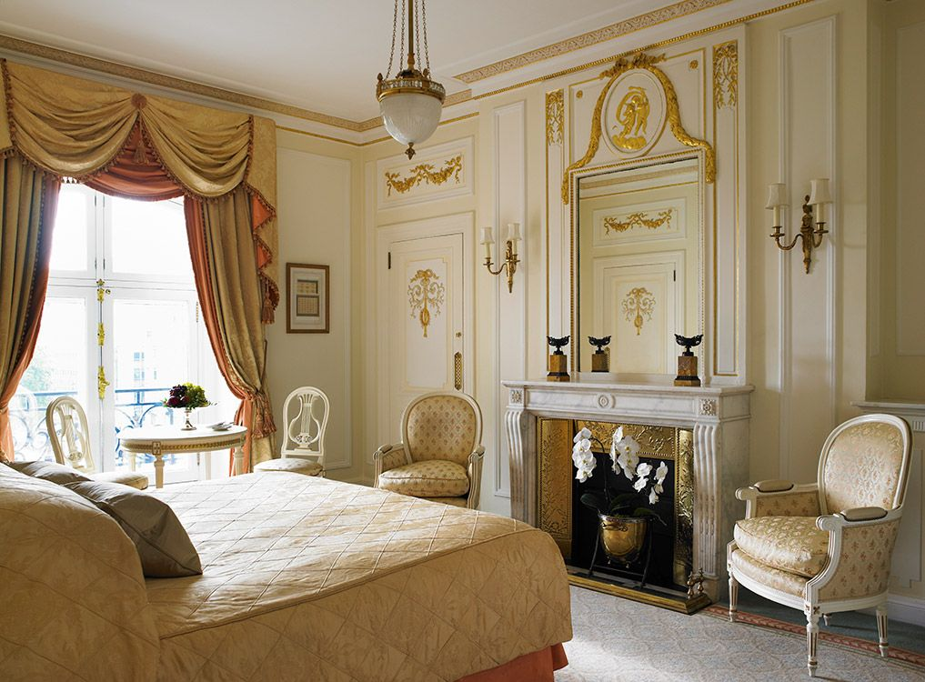 deluxe king room the ritz london hotel - Beaded Inset Hotel Decoration
