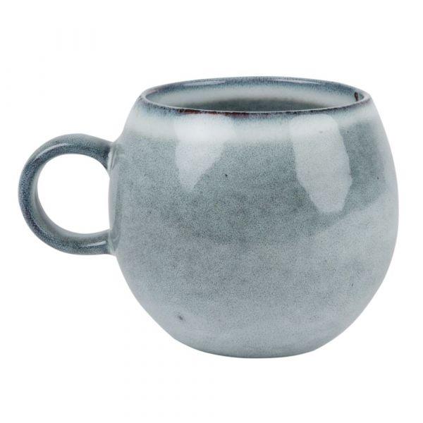 Blue Grey Earthenware Mug | Maisons du Monde US #bluegreykitchens