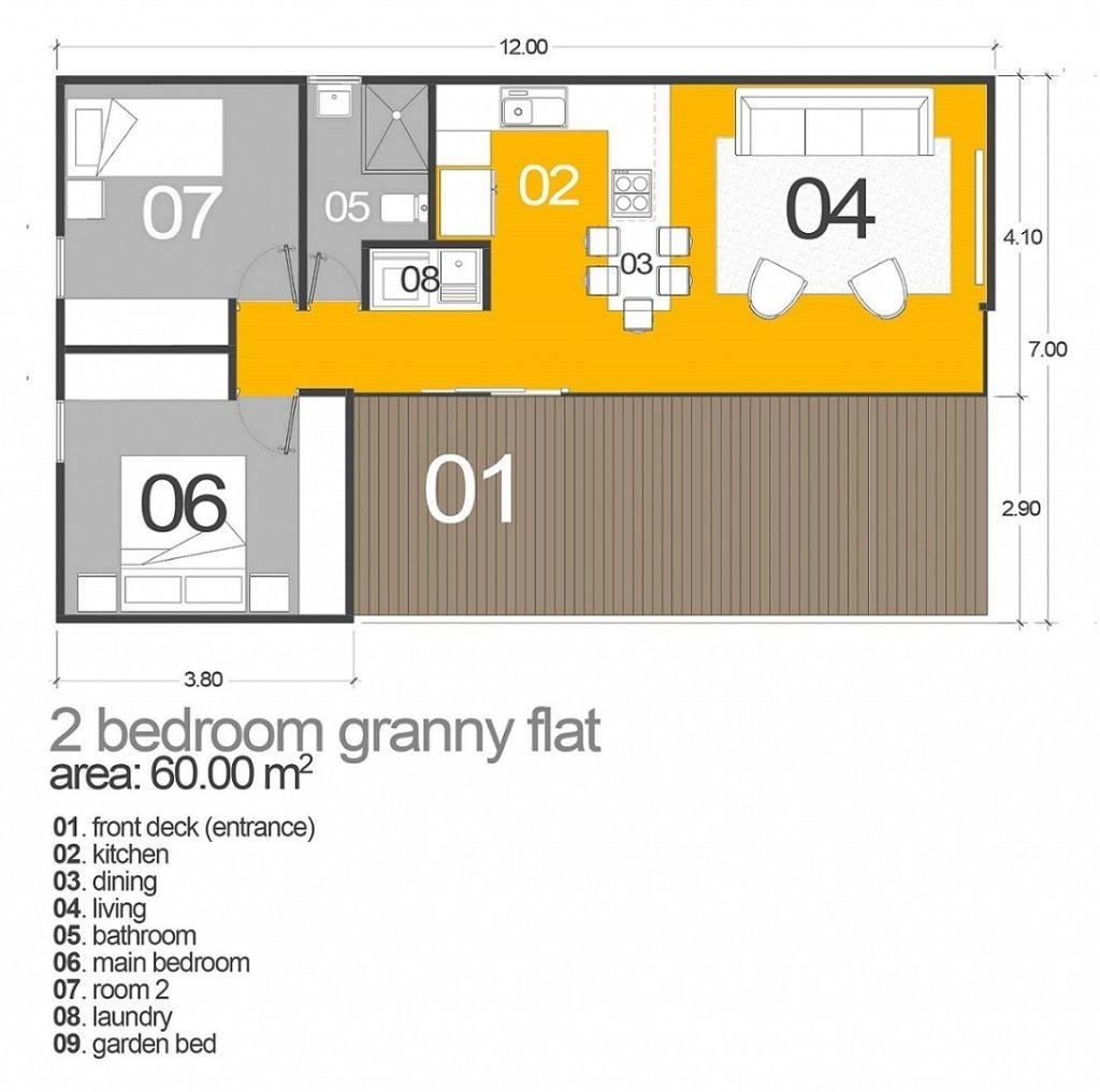 House Plans Queensland Granny Flat Plans Floor Plans