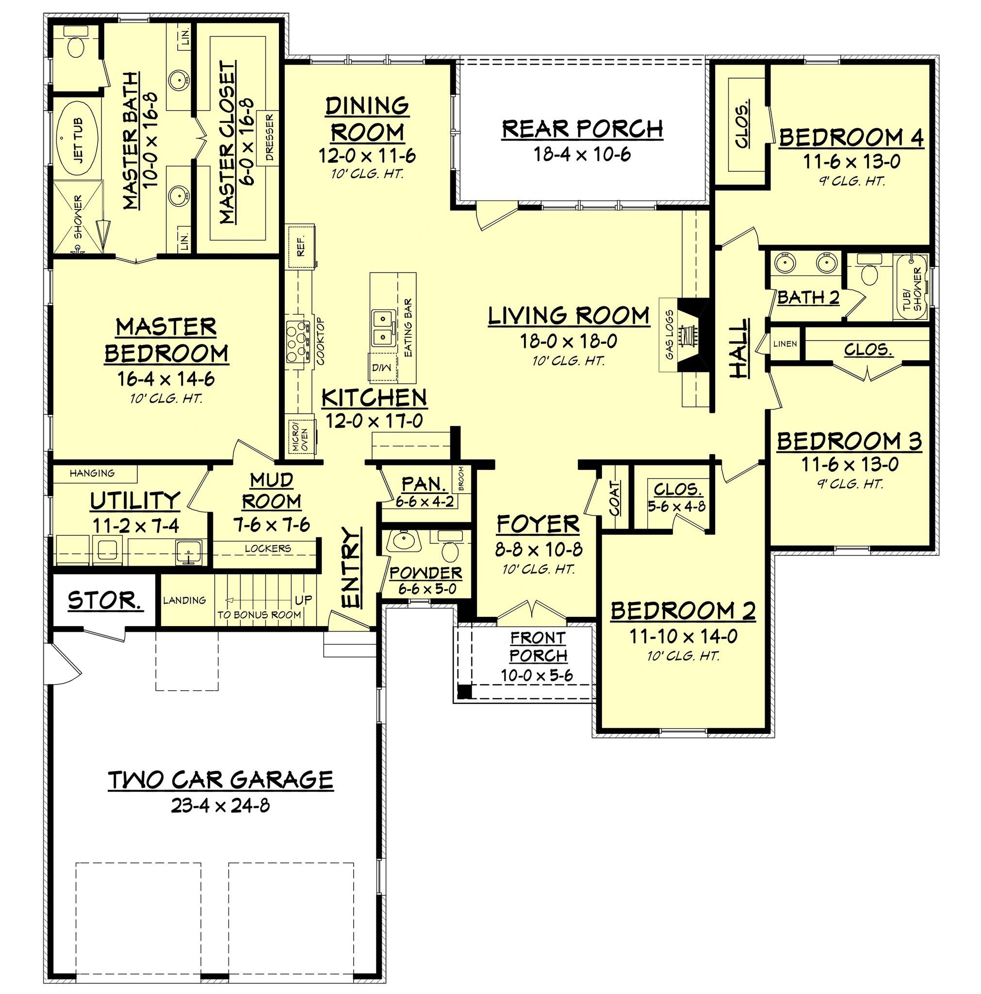 Get the house plan you want to build the home of your dreams the chalmette