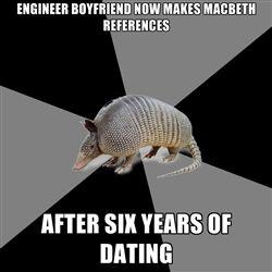 dating an engineer major