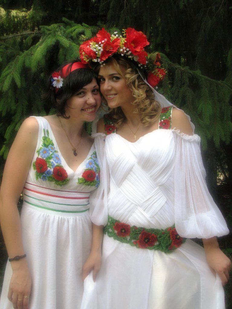 свадьба в украинском стиле фото мыльница сможет составить