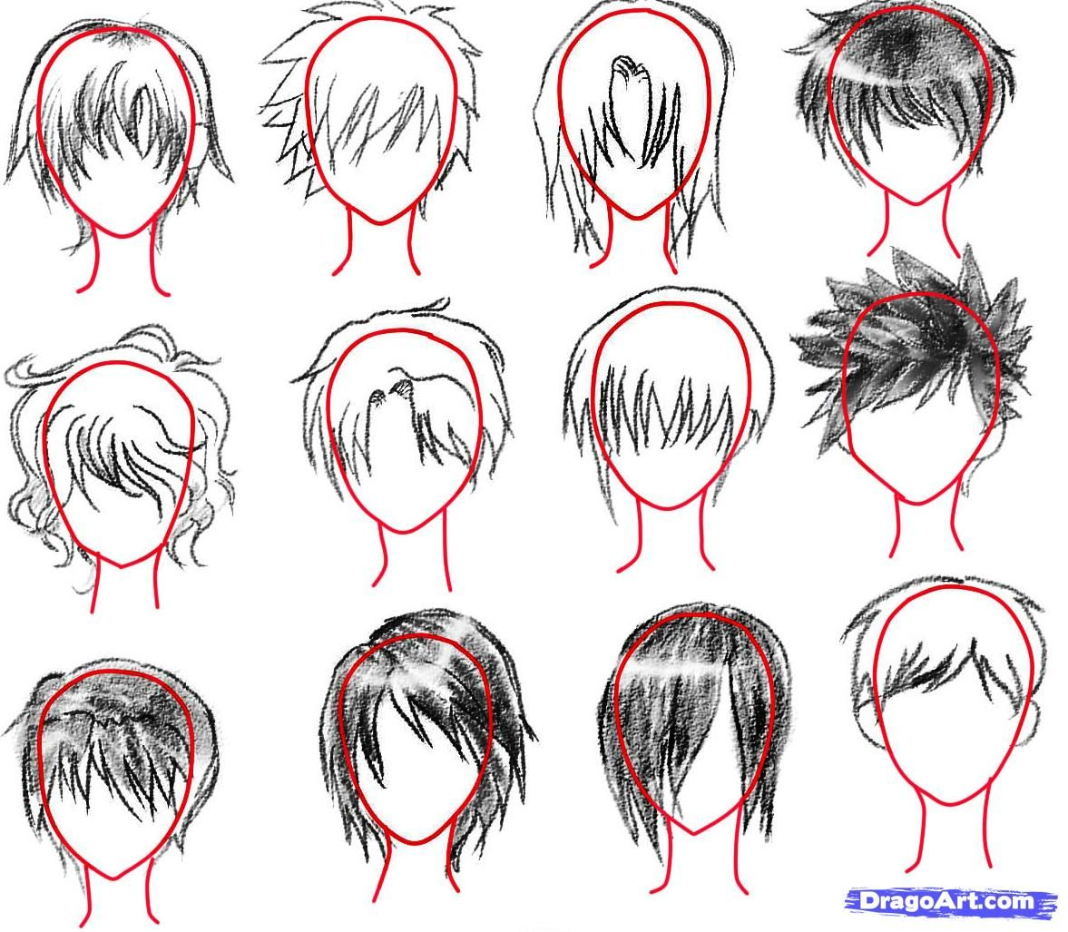 How To Sketch An Anime Boy Step 13 Manga Drawing Tutorials Drawings Anime
