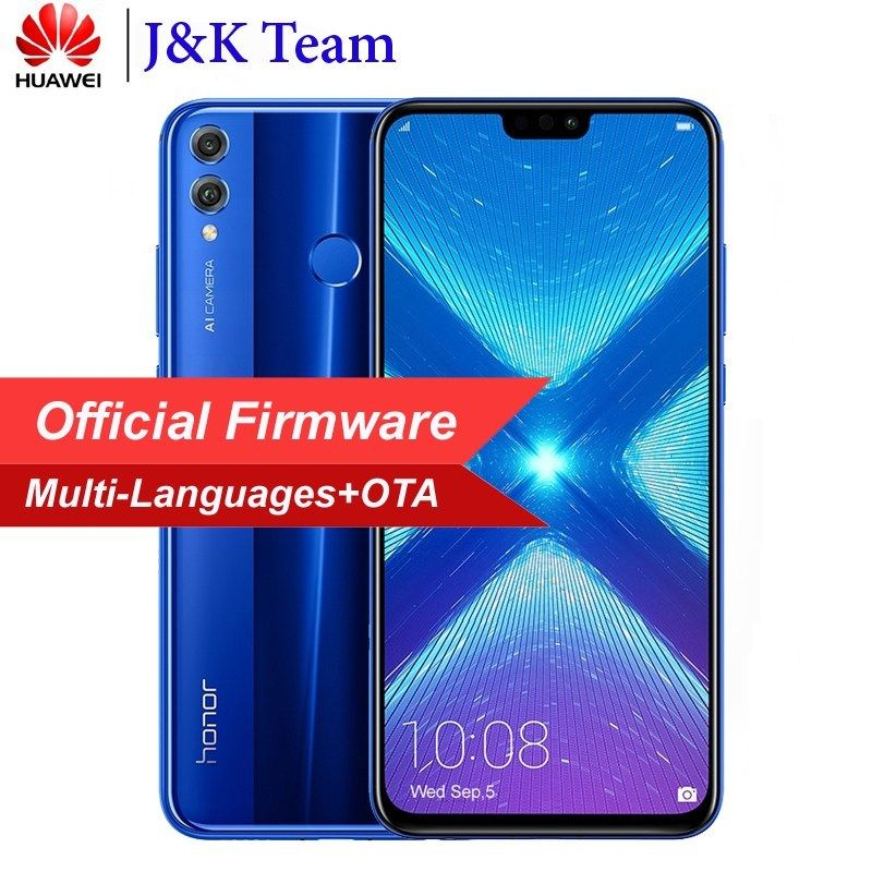Calendario Android.Huawei Honor 8x Mobilephone 6 5 Inch Screen 3750mah Battery Android