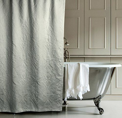 Matelasse Luxury Shower Curtain By Hotel Collection 100 P