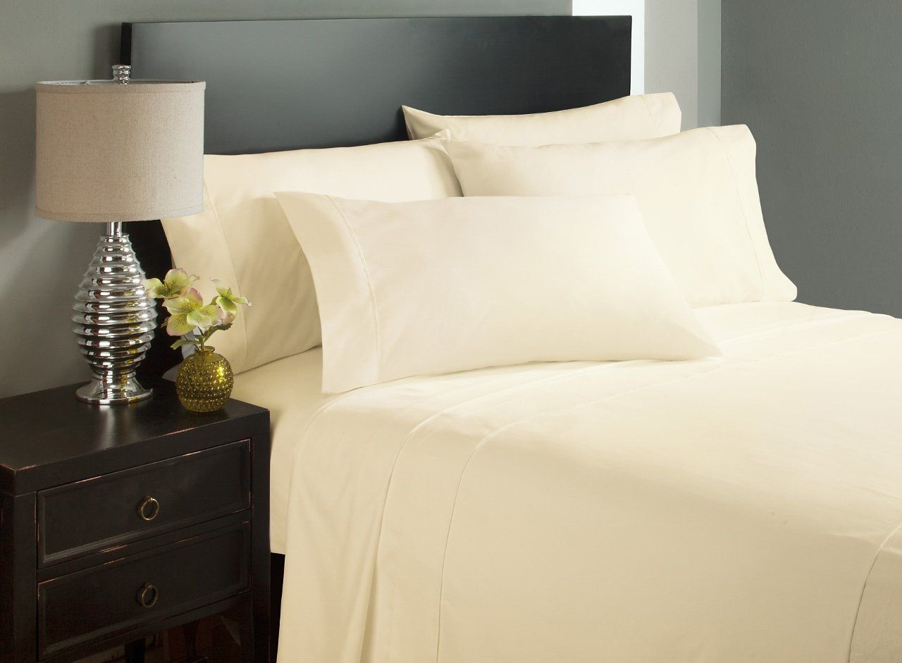 Amazon.com: Careey ThreadLux Series - 1800 Thread Count, Twin Sized ...