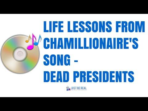 Persistence Pays Off - Life Lessons From Chamillionaire's Song Dead Presidents - YouTube