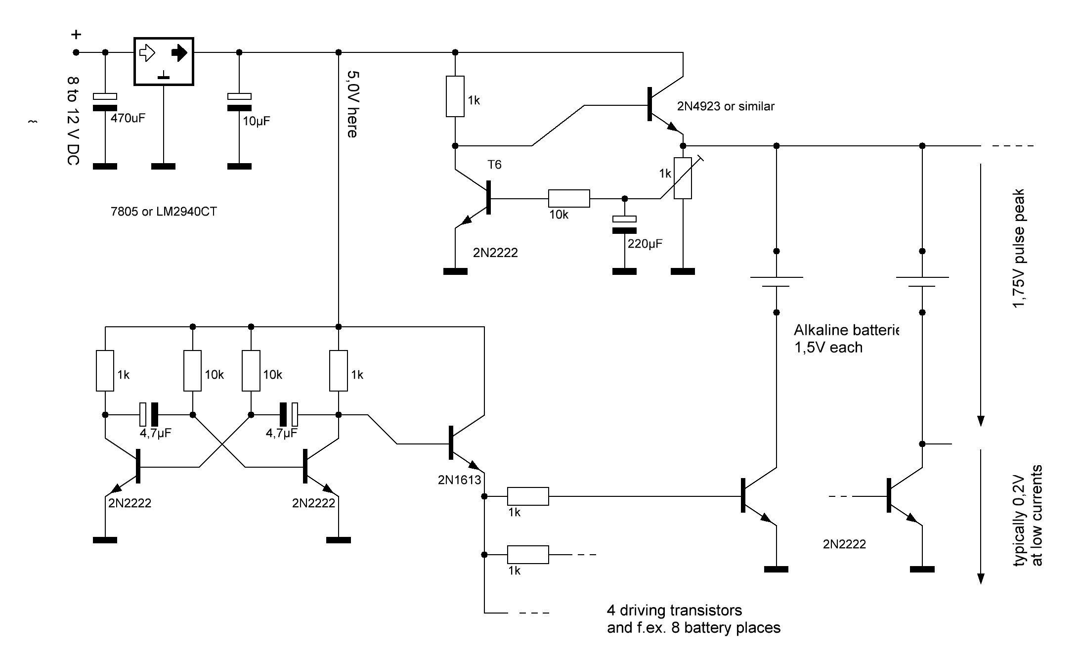 Regenerate Alkaline Batteries Alkaline Battery Regeneration Voltage Regulator
