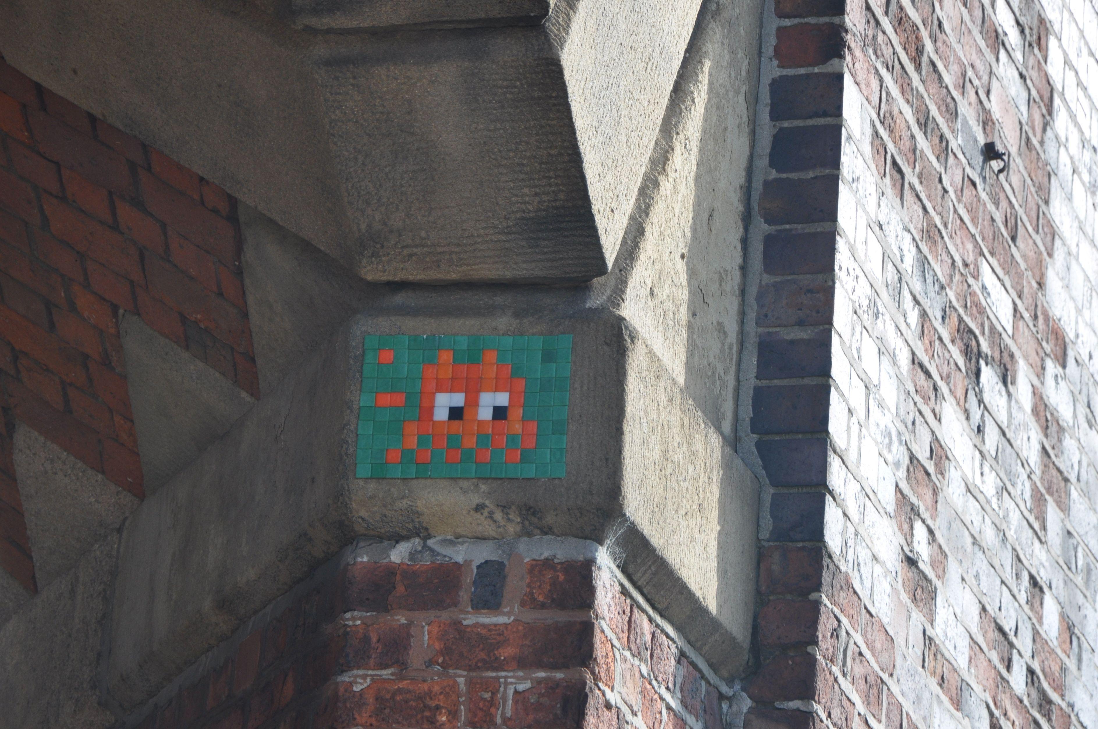 Invader, Manchester