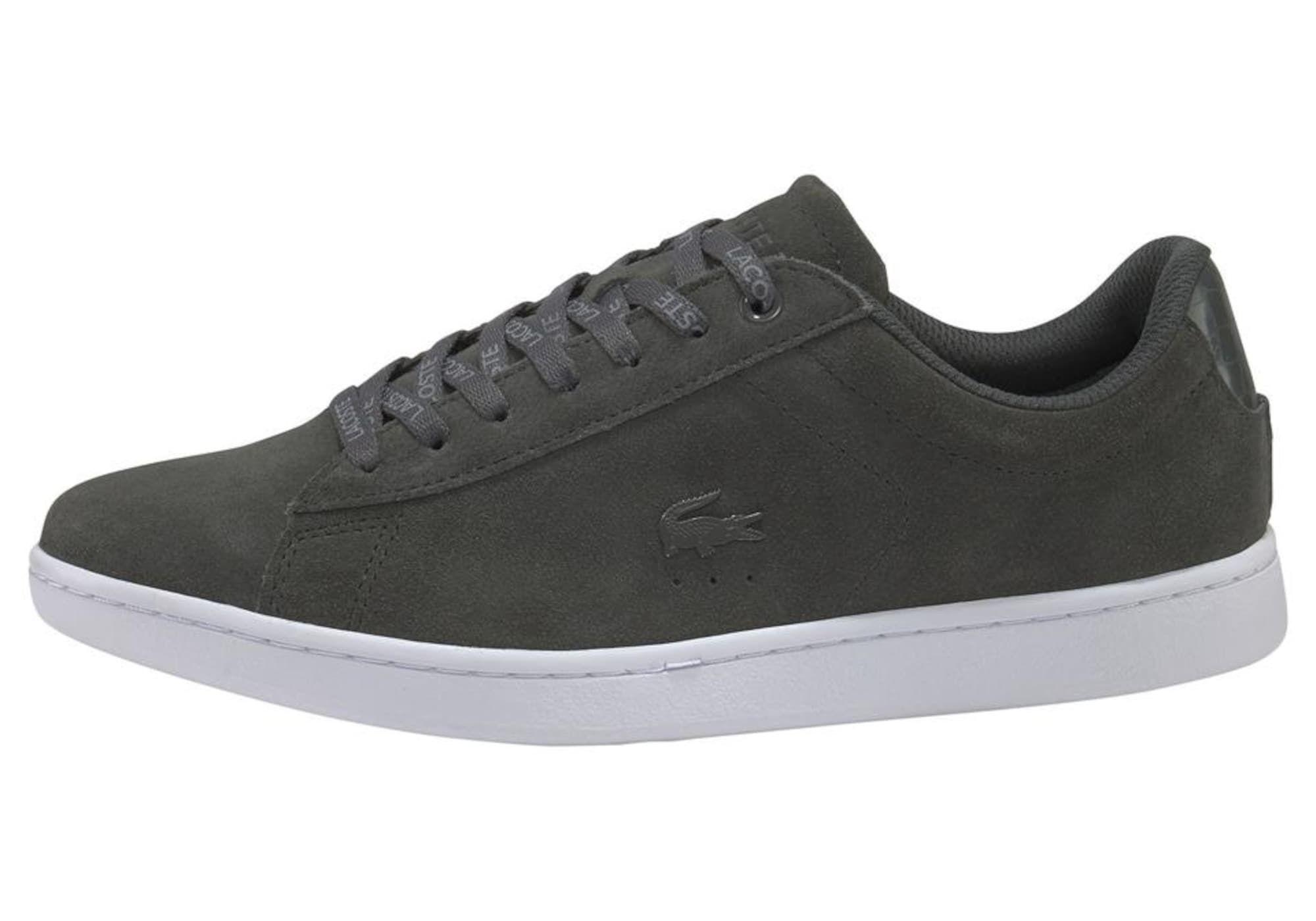 Lacoste Sneaker Carnaby Evo 318 2 Qsp Herren Dunkelgrau Grosse 37 5 Mit Bildern Turnschuhe Lacoste Sneaker