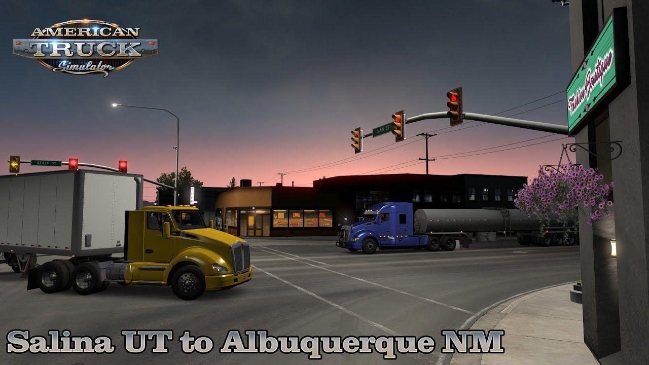 Salina UT to Albuquerque NM Kenworth T680 American