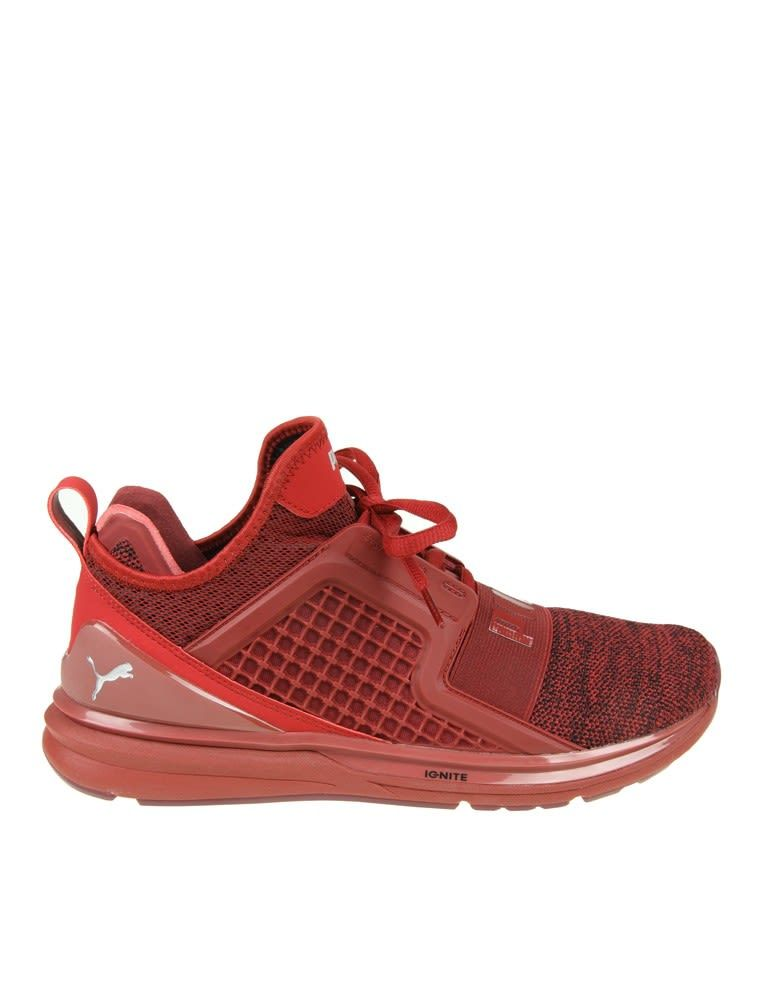 ea947c27b78 PUMA SNEAKERS IGNITE LIMITLESS RED COLOR.  puma  shoes